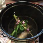海老しんじょの桜椀
