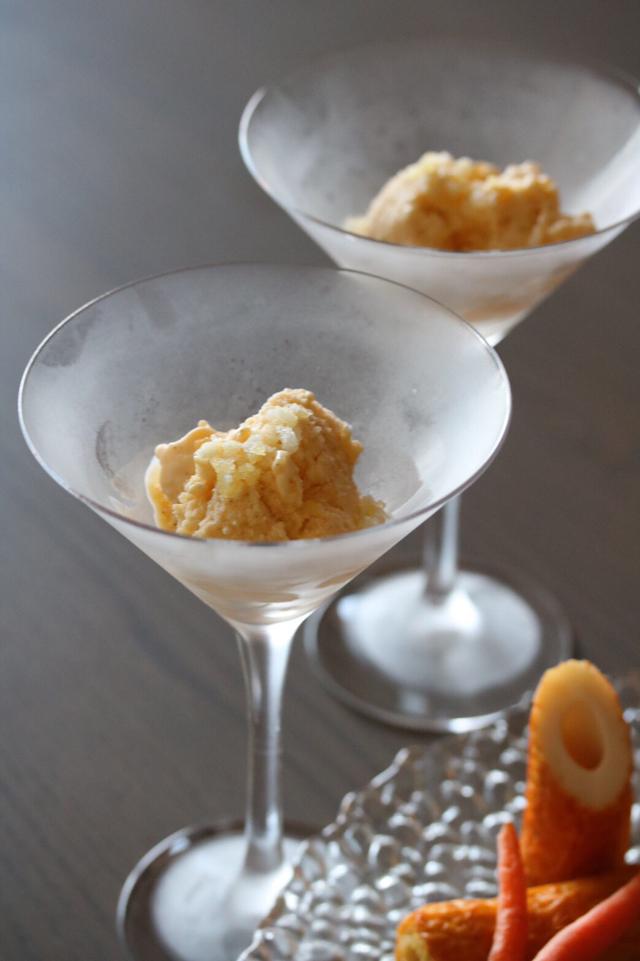 燻製(スモーク)のアイスクリーム