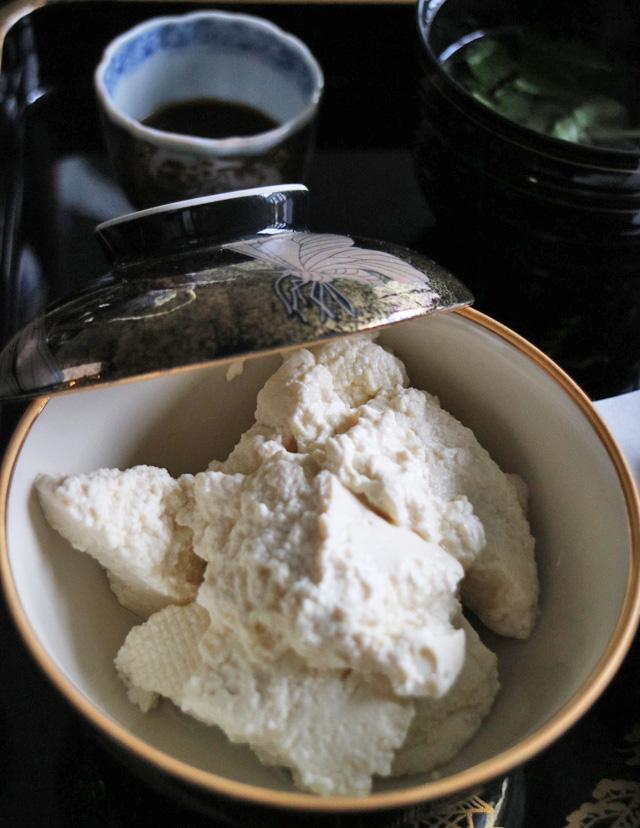 手作り豆腐(だし醤油)